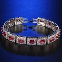 Unique Platinum Plated With Zircon Ladies' Fashion Bracelets