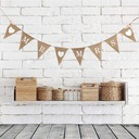 """MR & MRS"" Linen Photo Booth Props/Banner (8 Pieces)"