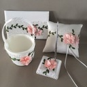 Flowers Design Collection Set in Satin With Flowers
