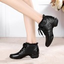 Women's Real Leather Lace Sneakers Sneakers Dance Shoes