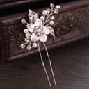 Ladies Pretty Rhinestone/Alloy/Imitation Pearls Combs & Barrettes With Rhinestone