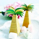 12pcs/set Palm Tree Favor Box