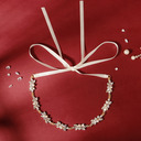 Ladies Lovely Rhinestone/Alloy/Imitation Pearls Headbands With Rhinestone (Sold in single piece)