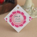 Personalized Flower Design Hard Card Paper (Set of 30)