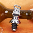 """Two Hearts are Better than One"" Bottle Stoppers/Wine Pourer"