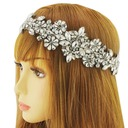 Ladies Classic Satin Headbands With Crystal (Sold in single piece)
