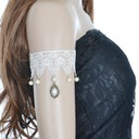 Beautiful Lace With Imitation Pearls Ladies' Body Jewelry