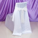 Organza Chair Ribbon Sash (set of 6)