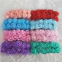 140PCS Styrofoam Rose DIY Accessories Artificial Flowers (140 Pieces)
