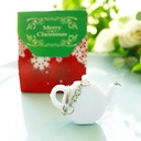 Love is Brewing Teapot Tape Measure Keychain