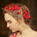 Special Rhinestone/Silk Flower Flowers & Feathers/Headbands