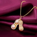 Lovely Alloy/Rhinestones Ladies' Necklaces