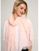 Solid Color Light Weight/attractive Cotton Scarf