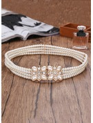 Beautiful Imitation Pearls Belt