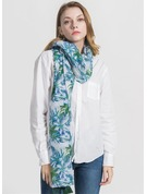 Floral Light Weight/Oversized Polyester Scarf