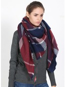 Color Block Neck/Cold weather Acrylic Scarf
