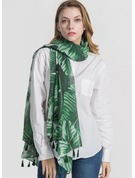 Floral Light Weight/fashion Polyester Scarf