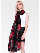 Floral Light Weight Cotton Scarf