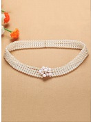 Elegant Imitation Pearls Belt