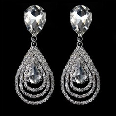 Elegant Crystal Ladies' Earrings