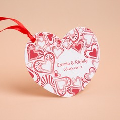 Personlig Heart Stil Invitation Cards