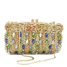Gorgeous Crystal/ Rhinestone/Rhinestone/Alloy Clutches
