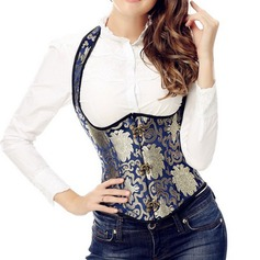 Women Classic/Charming Spandex/Chinlon Tanks And Camis/Waist Cinchers With Jacquard Shapewear