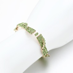 Attrayant Alliage/Strass Dames Bracelets
