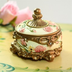 Classic Resin Ladies' Jewelry Box