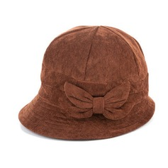 Ladies' Elegant Cotton With Bowknot Floppy Hat