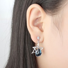 Beautiful Alloy/Crystal With Crystal Earrings