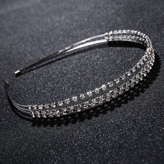 Ladies Magnificent Alloy Tiaras With Rhinestone