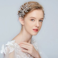 Classic Alloy Headbands With Rhinestone/Crystal (Sold in single piece)