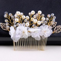Fashion Alloy/Imitation Pearls/Net Yarn Combs & Barrettes