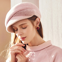 Ladies' Glamourous/Elegant/Pretty Wool/Polyester Beret Hats