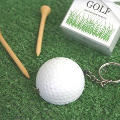 Golf Ball Tape Measure Keychain Party Favor