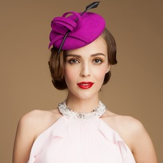 Ladies' Charming Wool Bowler/Cloche Hats