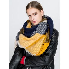 Color Block Neck/attractive/Cold weather Acrylic Scarf
