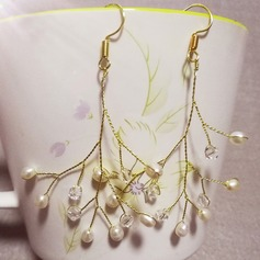 Elegant Imitation Pearls With Imitation Pearls Ladies' Earrings