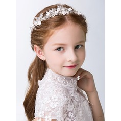 White Alloy Lovely Flower Girl Headbands (198121127)
