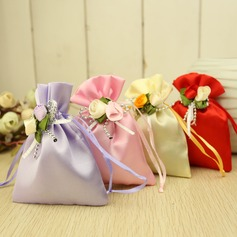 Favor Bags With Flowers