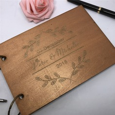 Personalized design Wood Guestbook (101198153)