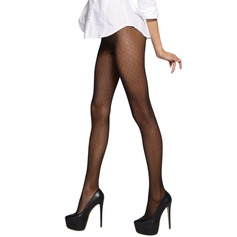 Plaid Nylon Chinlon Pantyhose