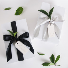 Bridesmaid Gifts - Simple Silk Card Paper Gift Box/Bag