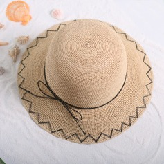 Ladies' Elegant/Simple With Bowknot Straw Hat