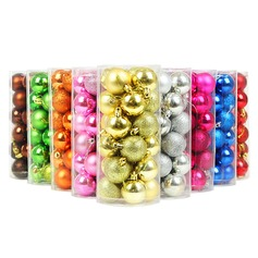 Creative Gifts Creative Fashion Plastic (Set of 24) Round Gifts