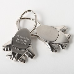 "Personalized ""Destination Wedding"" Zinc Alloy Keychains"