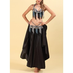 Women's Dancewear Polyester Chiffon Belly Dance Outfits