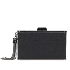 Attractive Patent Leather/Alloy Clutches