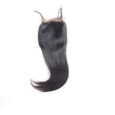 4A Straight Human Hair Closure (Sold in a single piece)